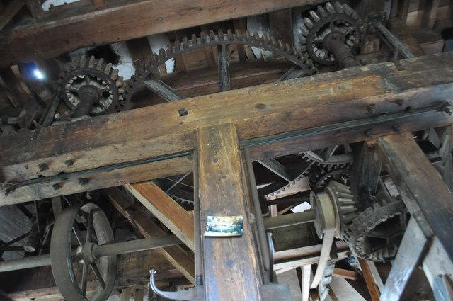 Buttrum's Mill - Meal floor