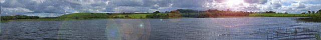 Belston Loch Panoramic View