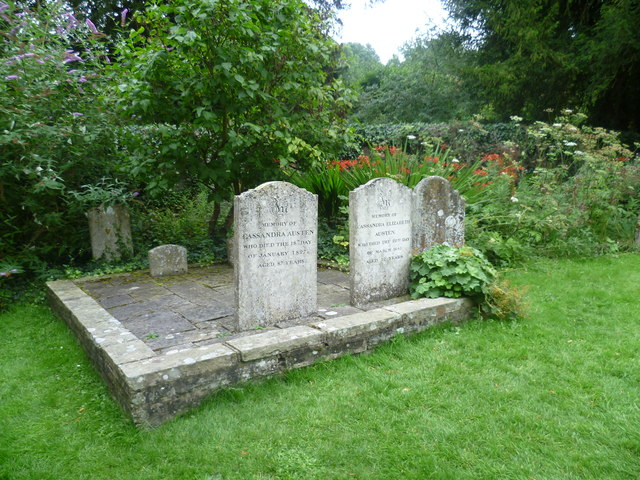 Jane Austen's mother's and sister's graves