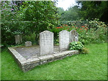 SU7037 : Jane Austen's mother's and sister's graves by Marathon