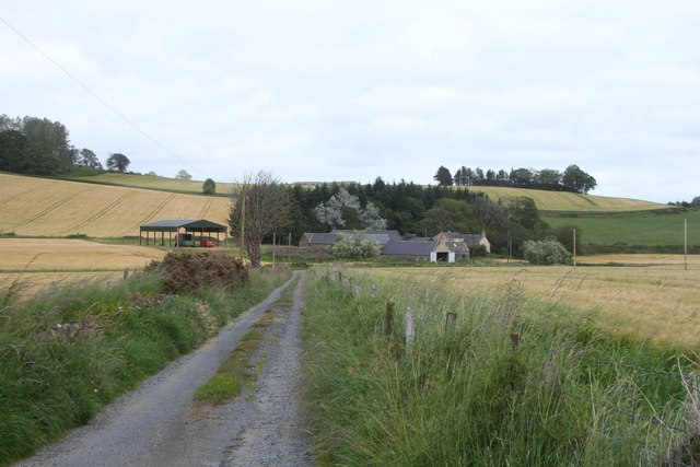 Road to Glenlogie