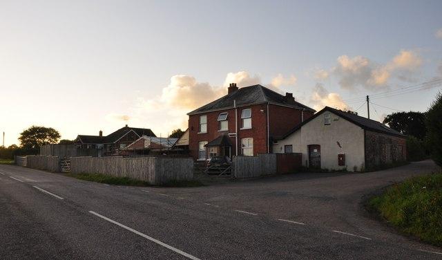 Mid Devon : Stoney Lane Hill Houses