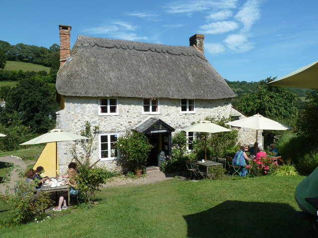 Old Bakery and tea-rooms, Branscombe