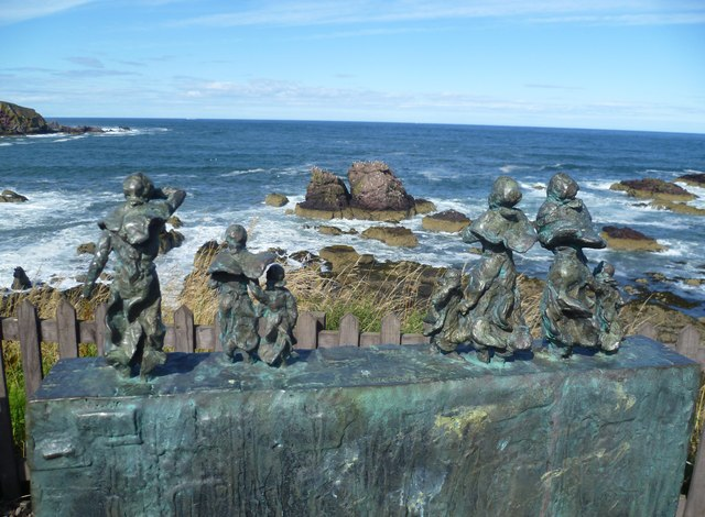 East Coast Fishing Disaster memorial, St. Abbs