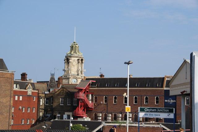 St John's Hill shopping centre