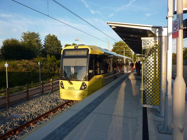 St Werburgh's Road Metrolink stop, Chorlton