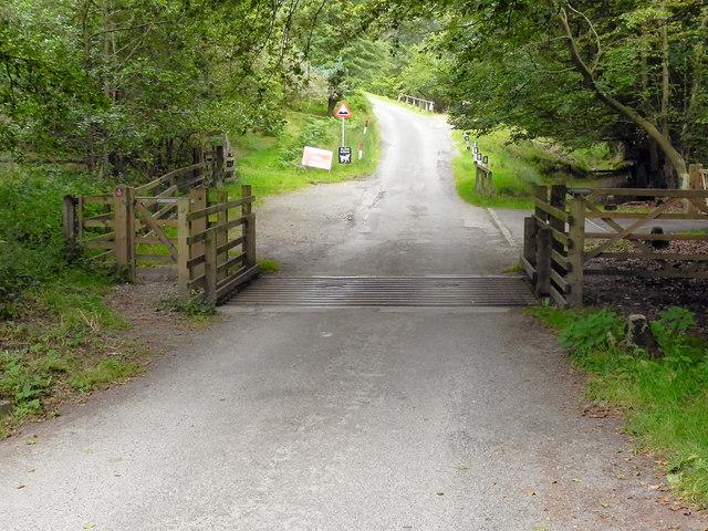 The Road to Levisham Village