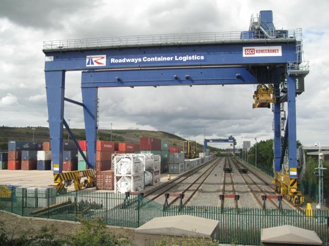 Birmingham Intermodal Freight Terminal, Birch Coppice