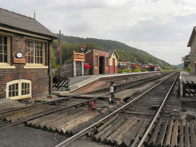 North Yorkshire Moors Railway, Levisham