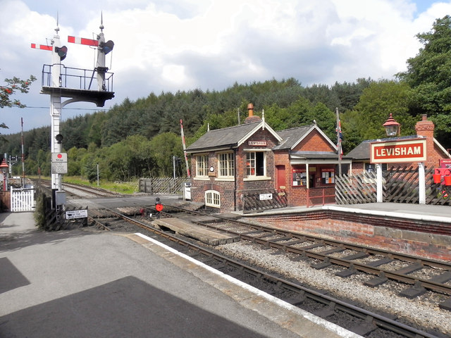 Levisham Signals and Signal Box
