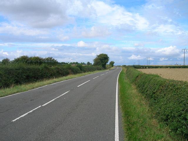 B6463 towards Dinnington