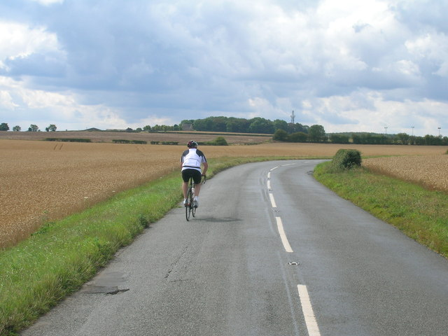 Leys Lane towards Dinnington