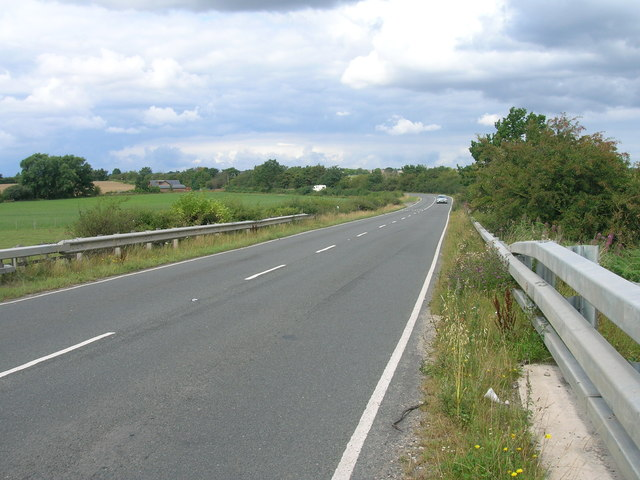 Laughton Common Road towards Thurcroft