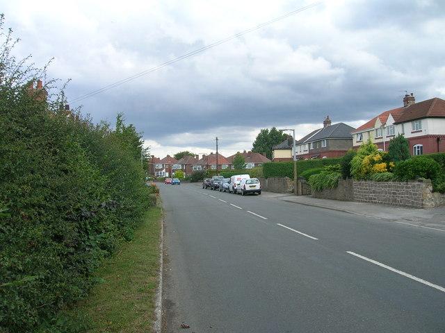 Brampton Road heading north