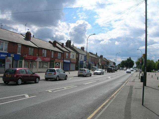 Green Arbour Road, Thurcroft
