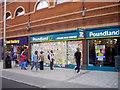 TQ3476 : Peckham's peace wall Rye Lane Peckham by PAUL FARMER