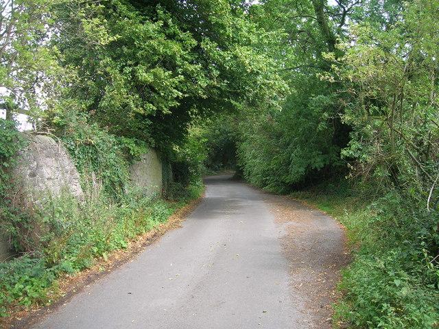 Bib Lane towards Carr