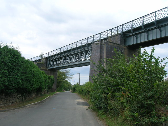 Railway bridge, Brookhouse