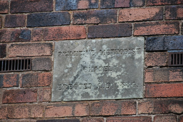Information Plaque for Chapel