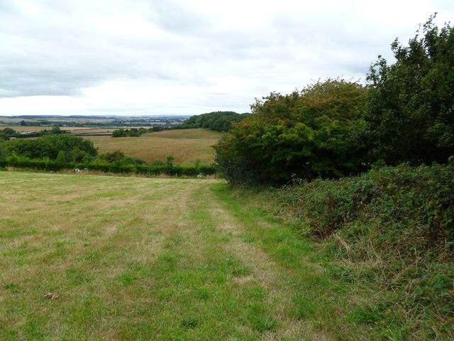 Uppington, footpath