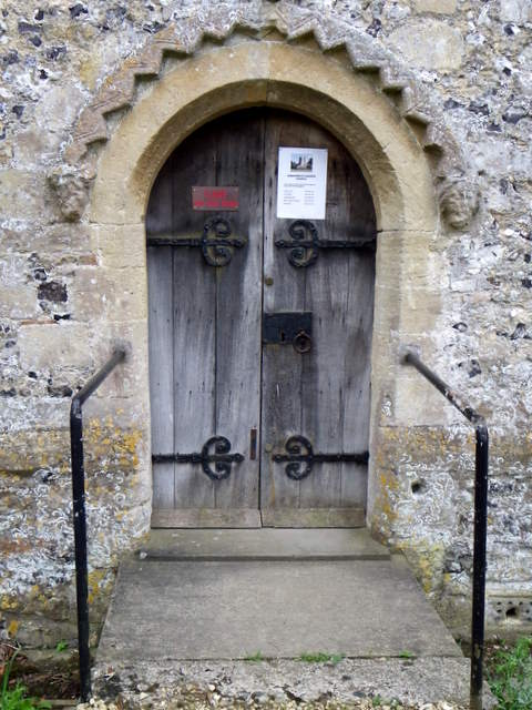 Door, St Andrew's Church