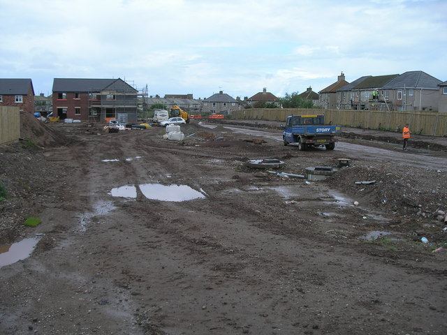 Building site off High Road