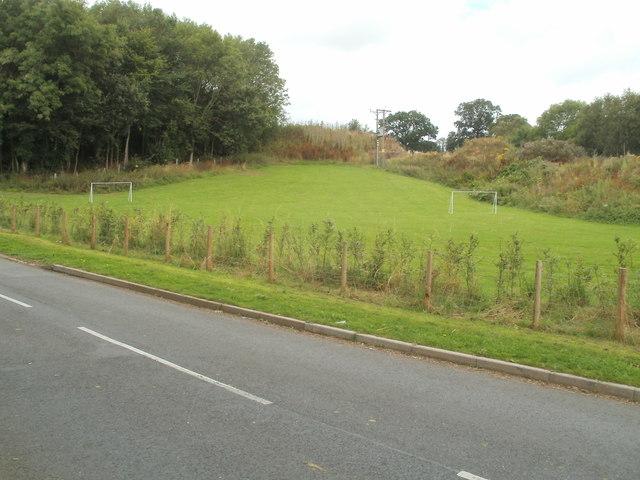 Movable goalposts, Bronllys