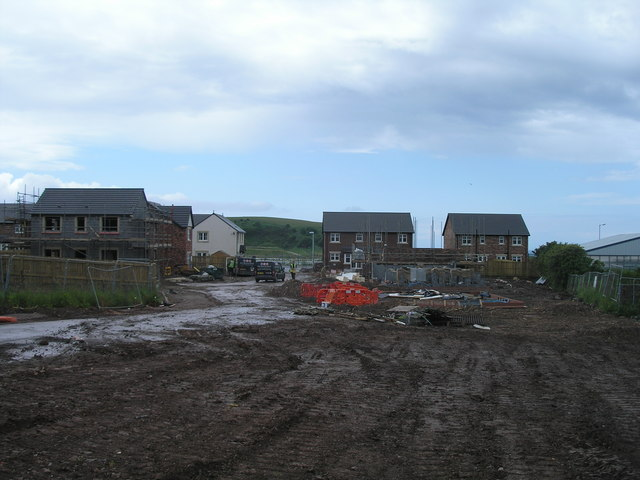 Building site from Windermere Road