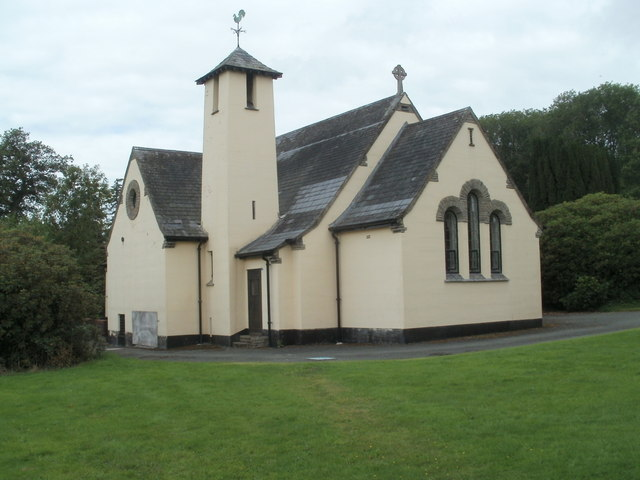 Bronllys Hospital chapel