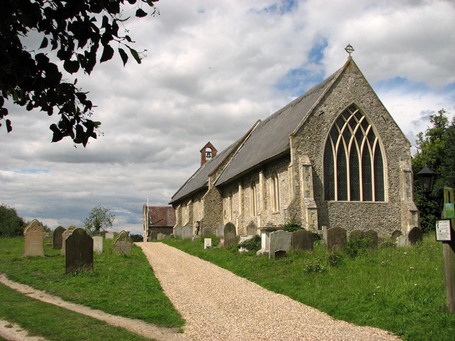 St Peter's church, Westleton