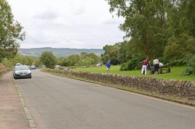 Picnic area, Duck Bay, Loch Lomomd