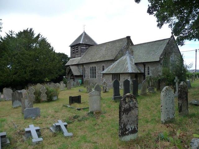 Parish church, Wentnor