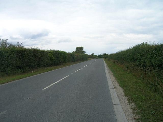 Hirst Lane towards Edlington