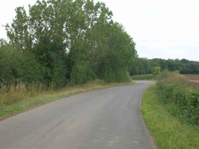Stainton Lane heading north