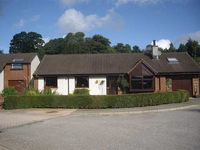 A bungalow in Torphins