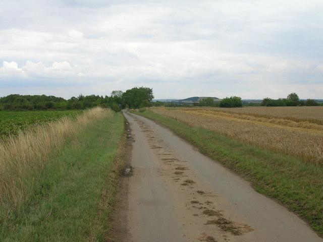 Apy Hill Lane towards Tickhill