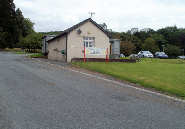 Bronllys Ambulance Station