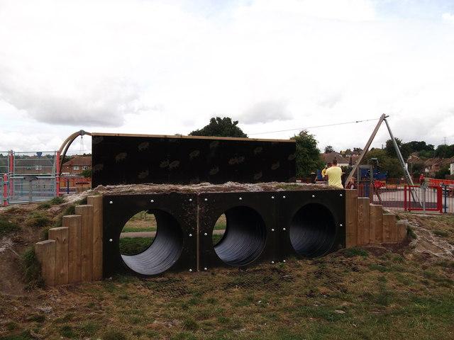 Badger Holes In Foots Cray Meadows