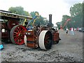 SU1189 : Fowler steam roller, Swindon and Cricklade Railway, Blunsdon by Brian Robert Marshall