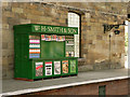 SE7984 : WH Smith, Pickering Station by David Dixon