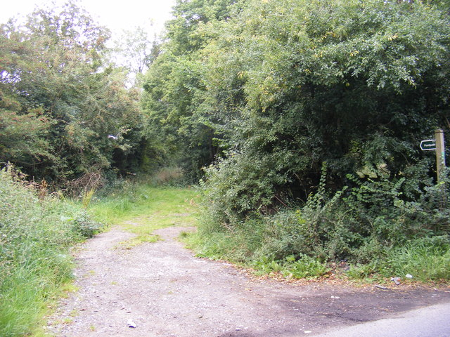 Footpath to Gibraltar Road