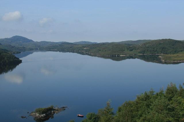 Loch Assynt from Ruddyglow Park