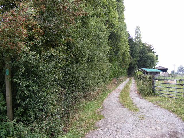 Footpath to Chapel Road