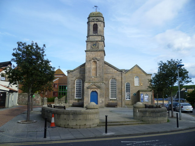 Former Eyemouth Parish Kirk