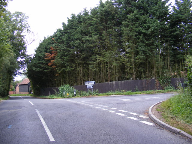 B1079 junction with B1078 Swilland Road