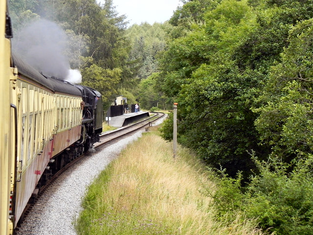 North Yorkshire Moors Railway, Approaching Newtondale