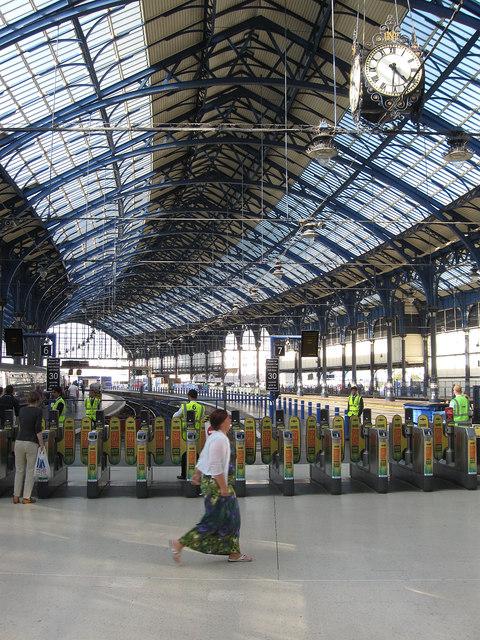 Ticket Barriers, Brighton Station