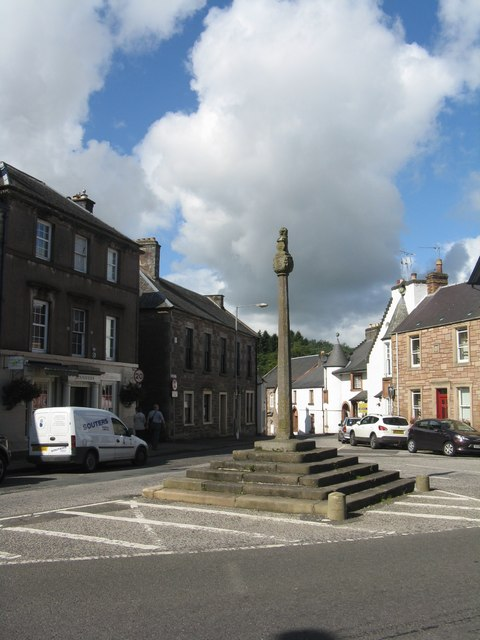 The Mercat Cross and George Street, Doune
