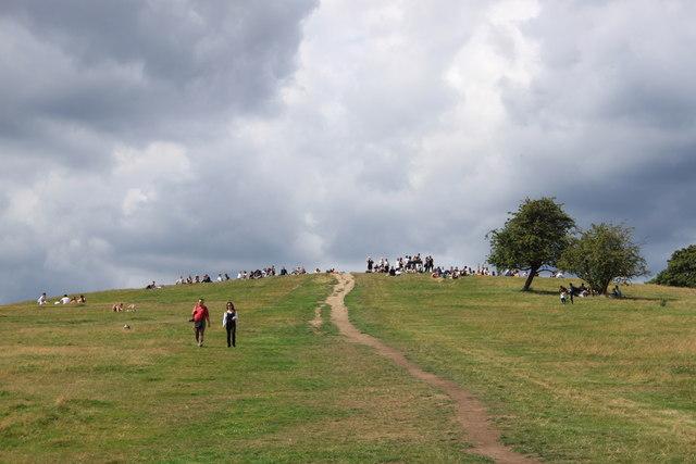 Summit of Primrose Hill NW1
