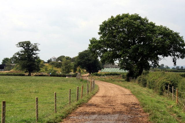 Footpath near Sibbersfield Lane Farm
